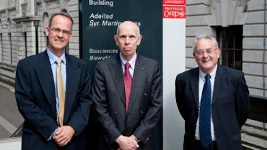 MRC Professor Ole Petersen CBE FRS, Director of Cardiff School of Biosciences