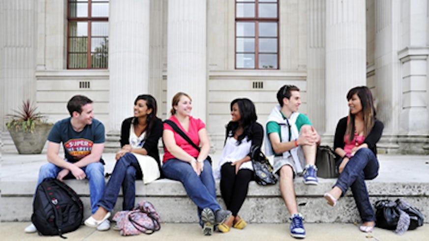 Students by Glamorgan