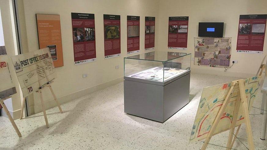 CAER WW1 Exhibition Space