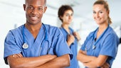3 medical trainees