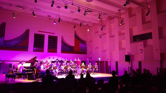 Concert at Cardiff University School of Music