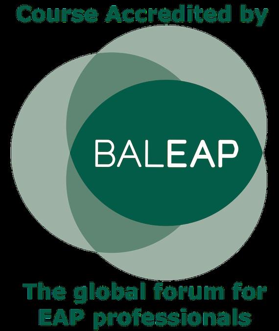 BALEP accreditation logo
