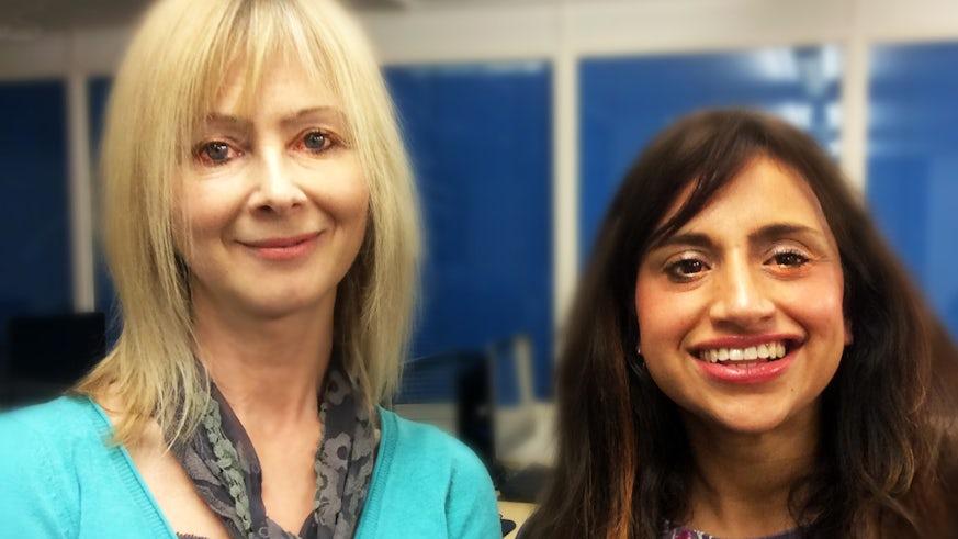 Carla Edgley and Dr Nina Sharma