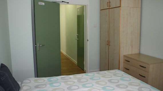 Bedroom 1 in University Hall 2 Bed Flat