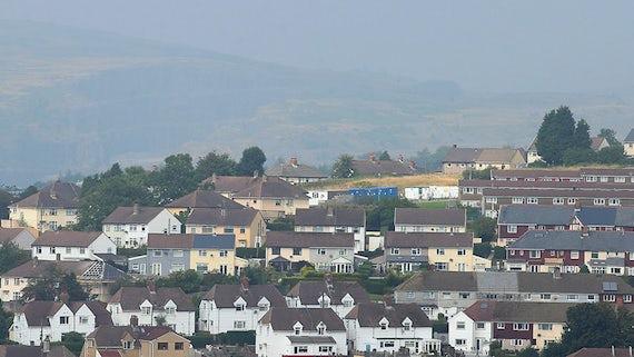 Houses in Merthyr