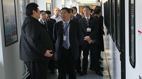 Chinese delegates visit ICS
