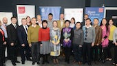 A group photo of participants in the Executive Education from China