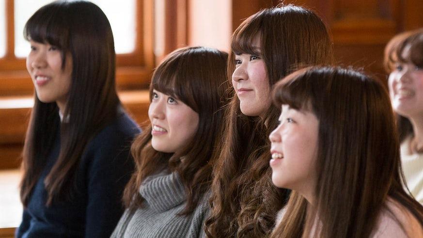 Students of Kyoritsu Women's University