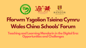 Wales China Schools Forum - Nov 20