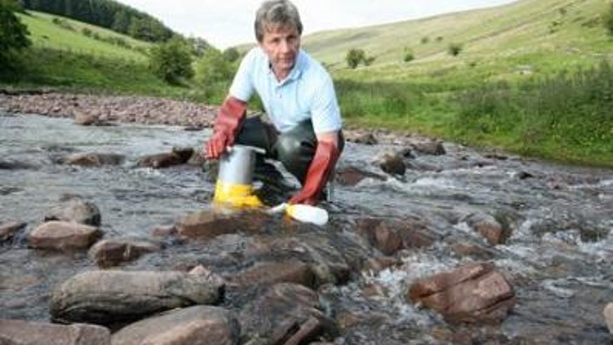 Clean rivers - Professor Steve Ormerod