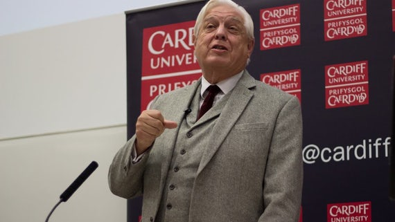John Simpson delivers Hadyn Ellis lecture