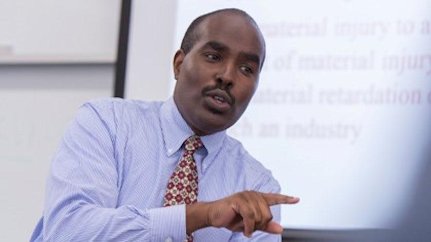 Professor James Gathii