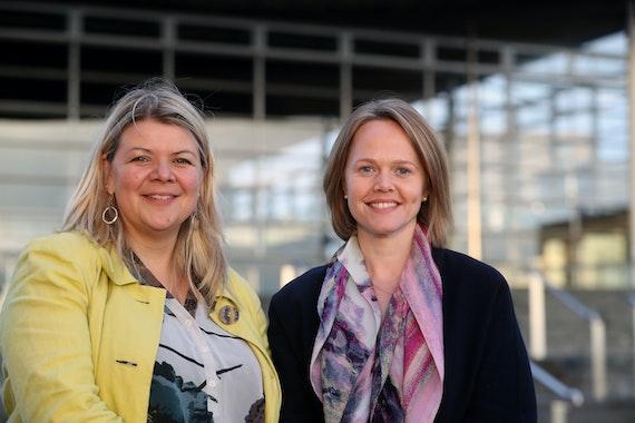 Dr Jo Hunt & Dr Rachel Minto