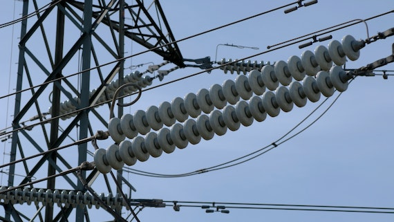 Image of an Electricity pylon