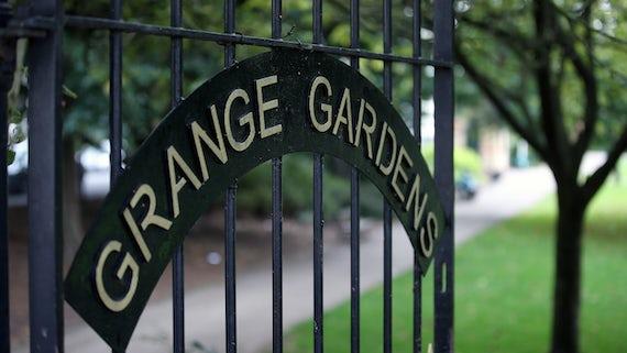 Grange Gardens gate
