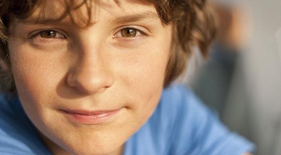 Young teenage boy