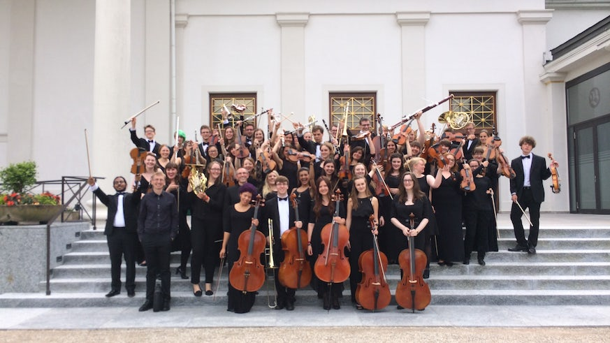 Symphony orchestra in Germany