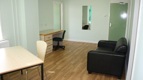 Lounge/Dining in University Hall 1 Bed Flat
