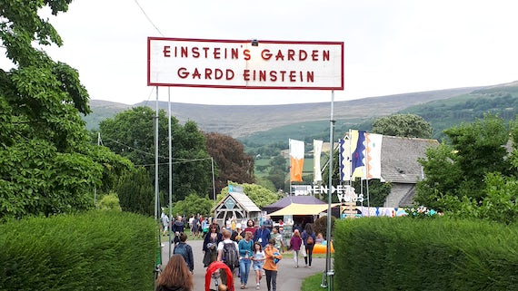entrance to einsteins garden