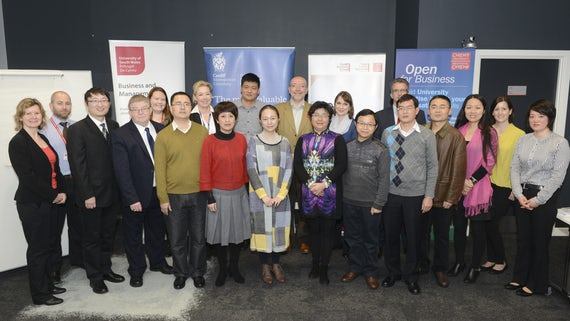 Chinese Delegation visit Cardiff Business School