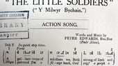 Peter Edwards, Pedr Alaw, The little soldiers: Y milwyr bychain: action song (Liverpool: H. Evans, 1914).