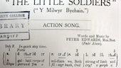 Peter Edwards, Pedr Alaw, Cân Weithred: Y milwyr bychain: Lerpwl: H. Evans, 1914).
