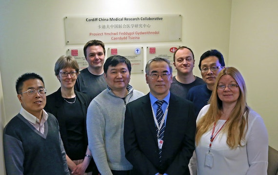 Cardiff China Medical Research Collaborative senior staff