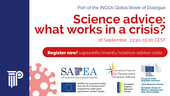 Science Advice – What works in a Crisis?