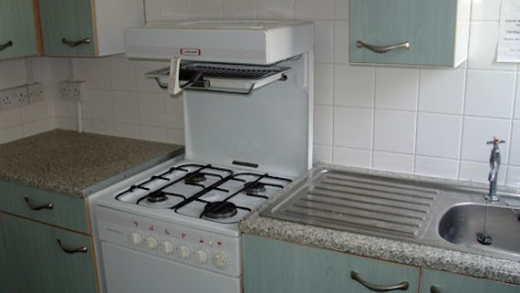 Kitchen at Student HousesFlats (Village)
