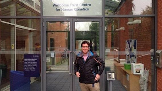 Thomas Lemon, a final year medical student at the School of Medicine