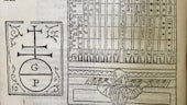 Cropped section of a page from De Harmonia Musicorum