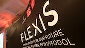 Flexis Launch back drop