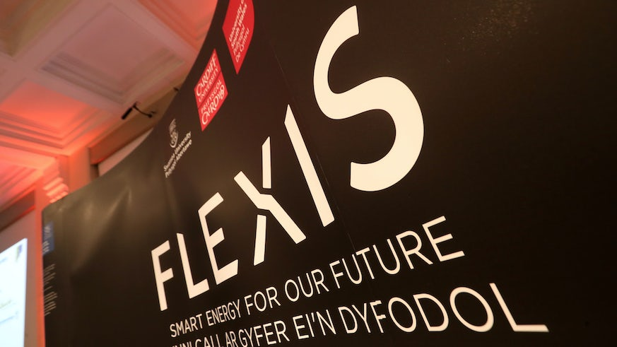 Flexis Launch back drop