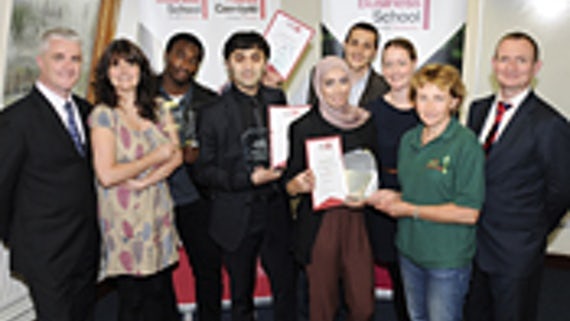 Cardiff Business School students