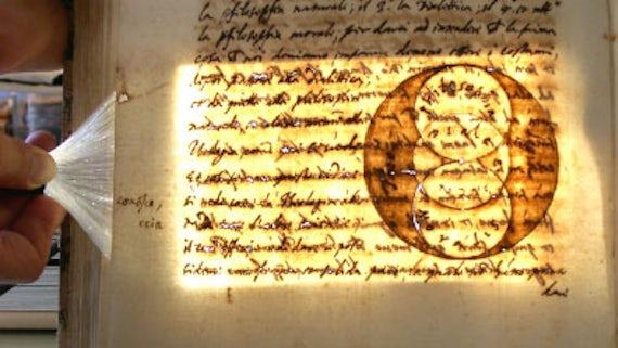 Aged manuscript