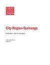 City Region Exchange - Briefing 1