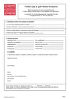 Standalone module application form - Welsh version