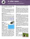 In otter news newsletter 2013