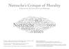 Nietzsche's critique or morality