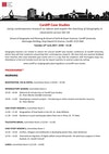 Cardiff Case Studies programme 2017