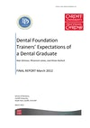 Dental Foundation Trainers' expectations of new graduates.pdf