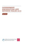 Government Expenditure and Revenue Wales 2016