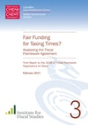 Fair Funding for Taxing Times? Assessing the Fiscal Framework Agreement