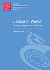 Justice in Wales: Principles, Progress and Next Steps