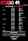Cardiff University Sport fitness class timetable September 2017