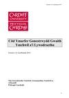 Côd Ymarfer Gonestrwydd Gwaith Ymchwil a'i Lywodraethu (Cymraeg)