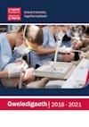 Gweledigaeth 2018-2021