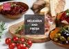 Delivered hospitality menu 2019