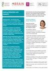 Public and Patient Involvement Case Study