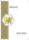 Gold 2015 World Conference abstracts booklet